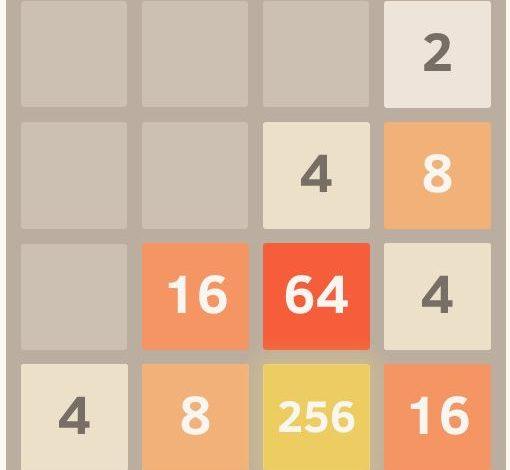 ۲۰۴۸؛ یک بازی ساده و جذاب