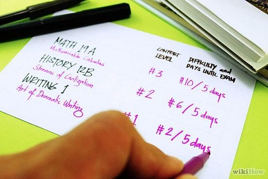 چگونه برنامه مطالعاتی تهیه کنیم؟