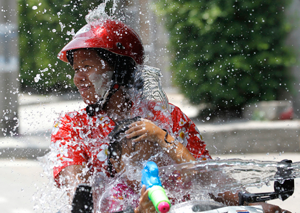 جشن آب در تایلند!
