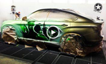 اتومبیلی که با آب داغ تغییر رنگ میدهد!