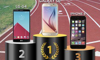 گلکسی اس ۶ سامسونگ، سریعترین تلفنهوشمند دنیا