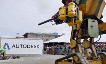 عصر روبودیاتور: دعوت تیم آمریکا از تیم ژاپن برای چالش دوئل روباتهای غولپیکر
