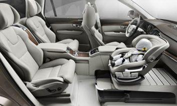 تأمین ایمنی بیشتر برای کودکان در اتومبیلهای ولوو