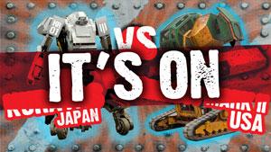عصر روبودیاتورها: پاسخ تیم ژاپن به تیم آمریکا، بیا بجنگیم!