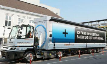بهکارگیری اولین کامیون تمام الکتریکی در جادههای اروپا