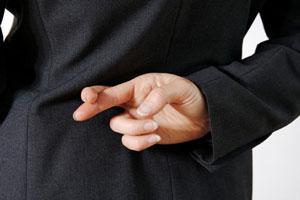 ۳ روش ساده برای تشخیص دروغ