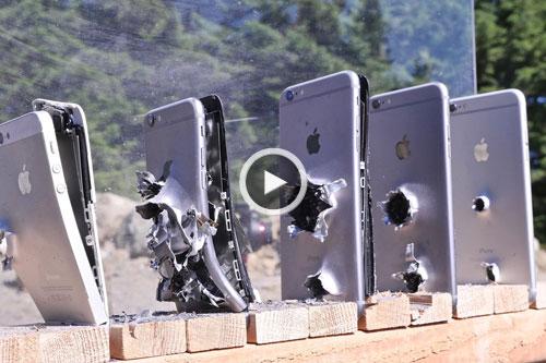 چند گوشی آیفون برای متوقف کردن یک گلوله لازم است؟