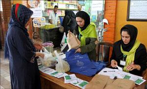 روز«بدون پلاستیک» در ایران با توزیع کیسه پارچهای