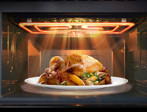 [اعلامیه سامسونگ] با مایکروفر جدید سامسونگ، آشپزی به سبک سرآشپزها را تجربه کنید