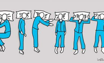 طرز خوابیدن چه اطلاعاتی در مورد شخصیت افراد میدهد؟