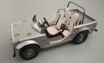اتومبیل کانسپت تویوتا برای آموزش رانندگی