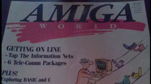 پیشگویی تولد توییتر ۱۸ سال زودتر توسط مجله جهان آمیگا