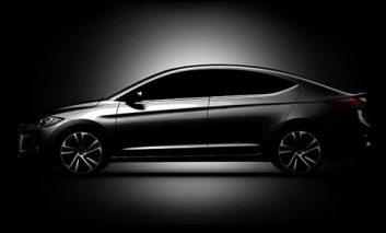 تصاویر جدید مدل ۲۰۱۶ هیوندای الانترا