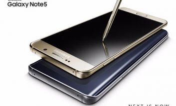 [اعلامیه]  گوشیهای Galaxy Note5 و +Galaxy S6 edge، گام بزرگی در عملکرد و طراحی