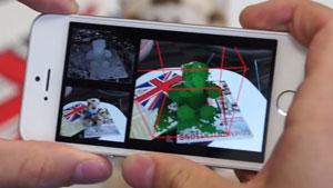 تبدیل دوربین آیفون به اسکنر سهبعدی