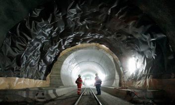 ساخت طولانیترین تونل جهان در سوئیس به پایان رسید