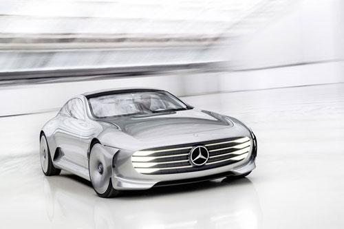 رونمایی از یک اتومبیل کانسپت جذاب توسط مرسدس- بنز