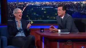مصاحبه تیم کوک با برنامه خبری Late Show؛ گپ و گفتی درباره استیو جابز، زندگی شخصی تیم، اپل کار و...