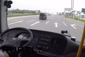 بهکارگیری اتوبوس خودران در چین