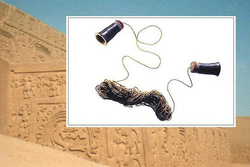 تلفن ۱۲۰۰ ساله، اختراع شگفتانگیزی از تمدن باستان