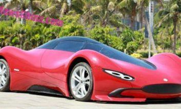 یک اتومبیل الکتریکی دستساز چینی