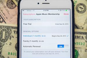 آمار آهنگین تیم کوک: تعداد مشترکان پولی اپل موزیک یک سوم اسپاتیفای