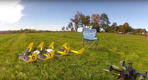 الگوریتم شناسایی پیشرفته مختص هواپیماهای بدون سرنشین