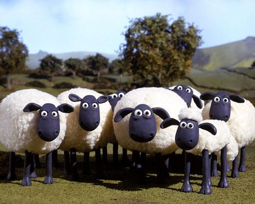 رفقای shaun the sheep: پانصد و پنجاه گوسفند کانادایی، استاد استتار و اختفا