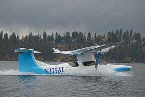 هواپیمای دریایی جدید طراح معروف، برت روتان