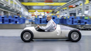 اتومبیل مختص مسابقه آئودی ساختهشده با فناوری پرینت سهبعدی