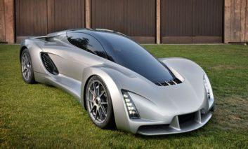 اولین اتومبیل فوقسریع پرینتشده جهان که سریعتر از فراری است