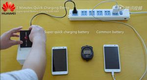 پیشرفت چشمگیر هوآوی در زمینه شارژ باتری