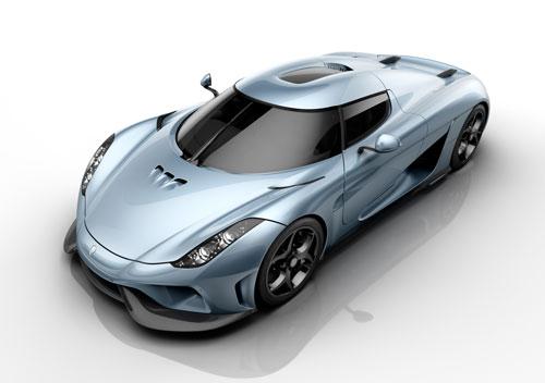 اتومبیل فوقسریع جدید کوئنیگزگ