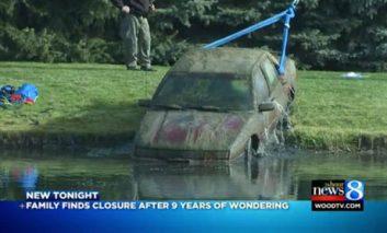 پیدا شدن اتومبیلی که ۹ سال پیش مفقود شده بود