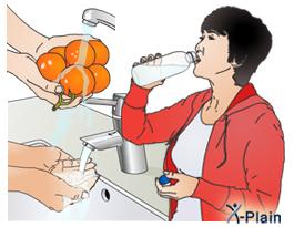 اقدامات اولیه برای درمان اسهال