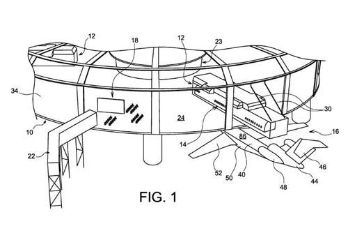 کابین هواپیمایی که به واگن باری تبدیل میشود