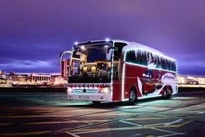 رونمایی از اتوبوس مختص کریسمس مرسدس