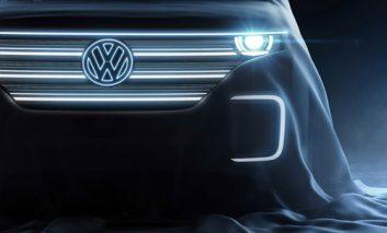 تبلیغ اتومبیل تمام الکتریکی فولکسواگن