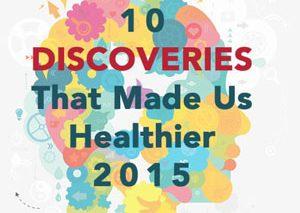 اکتشافات حوزه سلامت در سال ۲۰۱۵