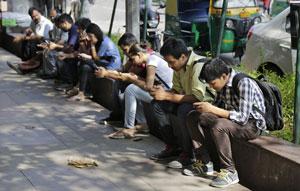 پس از چین، هند هم رکورد یک میلیارد کاربر موبایل را پشت سر گذاشت