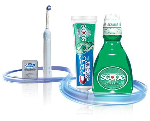محصولات مراقبت از دندان