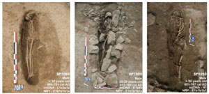 قبرهای مسلمانان قرون وسطی در فرانسه تاریخی تاکنون ناشناخته را نمایان میکنند