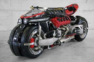 بتمن هم به این موتور چهارچرخ ۴۷۰ اسببخاری حسادت خواهد کرد