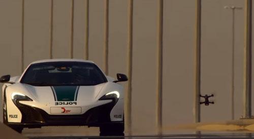 در مسابقه بین پهباد و خودروی اسپرت مکلارن بازندهای وجود ندارد