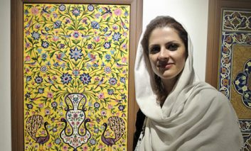 گالری جانا میزبان جلوههایی از کاشیکاری کرمان