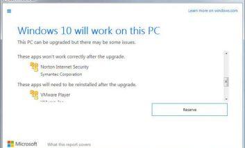 سرنوشت فایلها و برنامهها به هنگام نصب ویندوز ۱۰