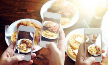 تعیین میزان کالری غذاها از طریق یک عکس معمولی