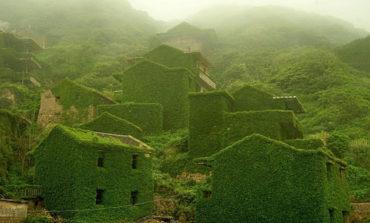 طبیعت این روستا را بلعیده