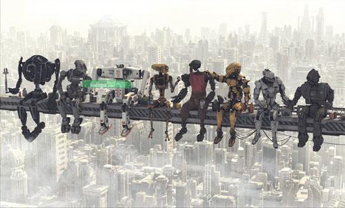 کارگران ساختمانی روباتیک هم ساعت نهار میخواهند!