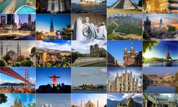 ۲۵ جاذبه گردشگری بسیار زیبا در دنیا